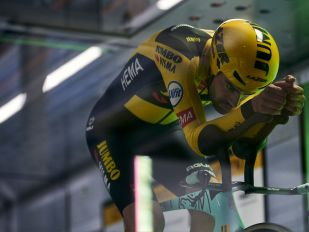 VISION NEWS FROM TOUR DE FRANCE TIME TRIAL