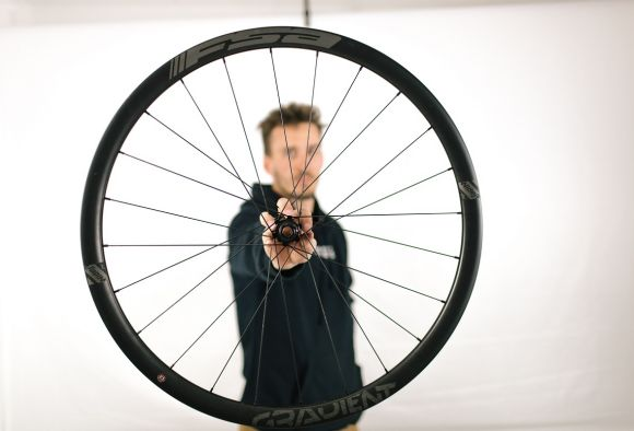 Gradient carbon wheels are designed for Enduro usage.