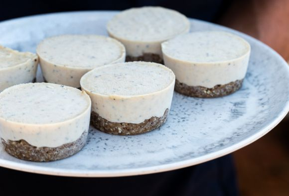 Terenzo Bozzone's Raw Lemon & Lime Poppy Seed Mini Cakes