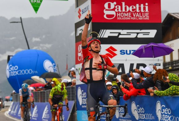 Mark Padun of Team Bahrain-Victorious