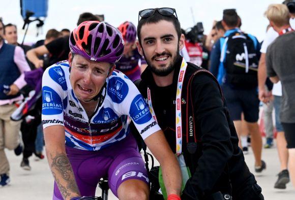 Alvaro with Madrazo (La Vuelta stage 5)