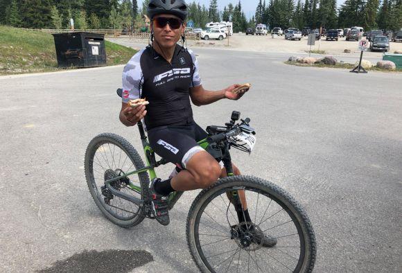 FSA sponsored rider, Cole House