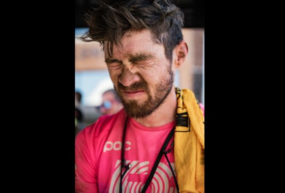 Alex Howes after 200 miles of The Pain Cave