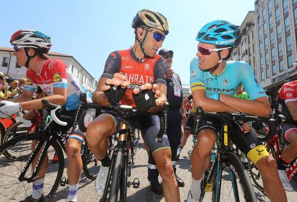 Nibali and Sanchez (Giro d'Italia 2017)