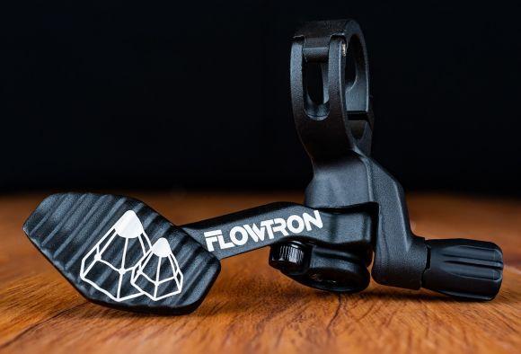Flowtron remote-control lever