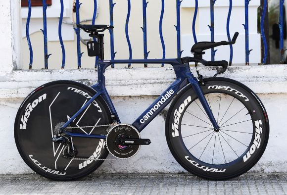 Cannondale TT bike with Vision wheels (Credits Getty Images)