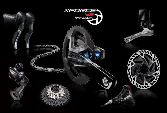 K-Force WE Disc groupset.