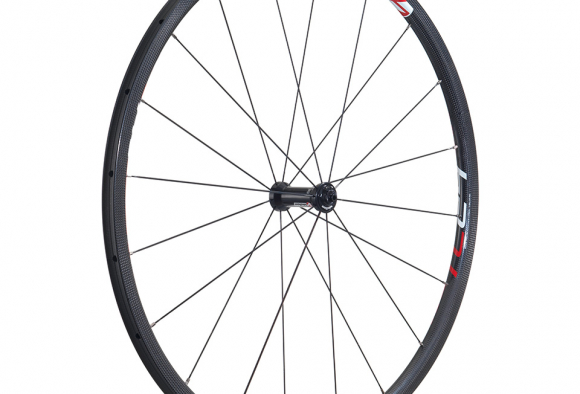 Vision's TC24 wheelset is light, with tubular carbon rims, weighing just 1,300g a pair