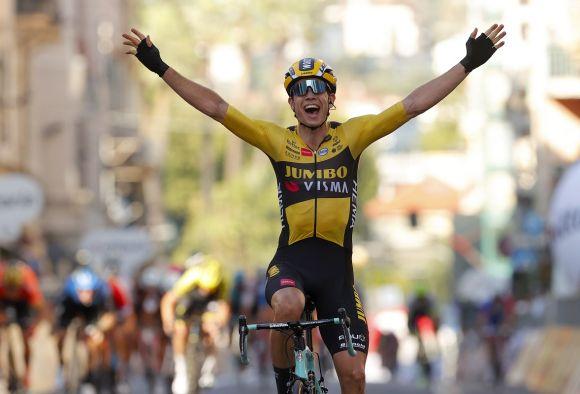 Wout Van Aert, Milano-Sanremo triumph (Ph. Bettini)