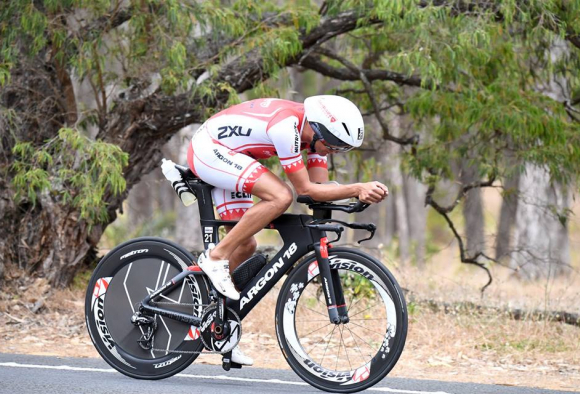 Train like Terenzo… the Ironman 70.3 World Champ from 2008 puts in the hours.