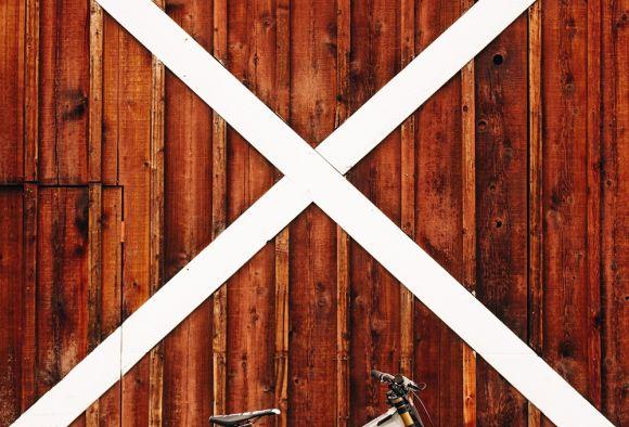 Luca Cometti's bike.